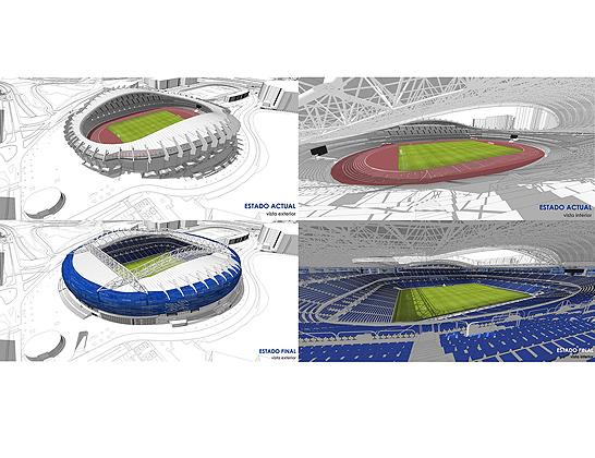 LKS y Anoeta Kiroldegia-Ciudad Deportiva Anoeta firman el contrato para la remodelación del Estadio de Donostia-San Sebastián