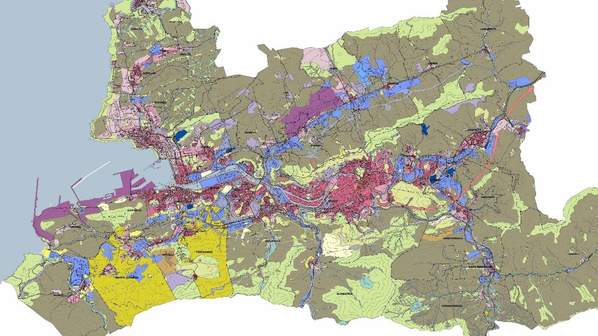 LKS Ingeniería y Arquitectura redactará el Documento de Aprobación Inicial de la Revisión del Plan Territorial Parcial del Área Funcional de Bilbao Metropolitano (PTPBM)