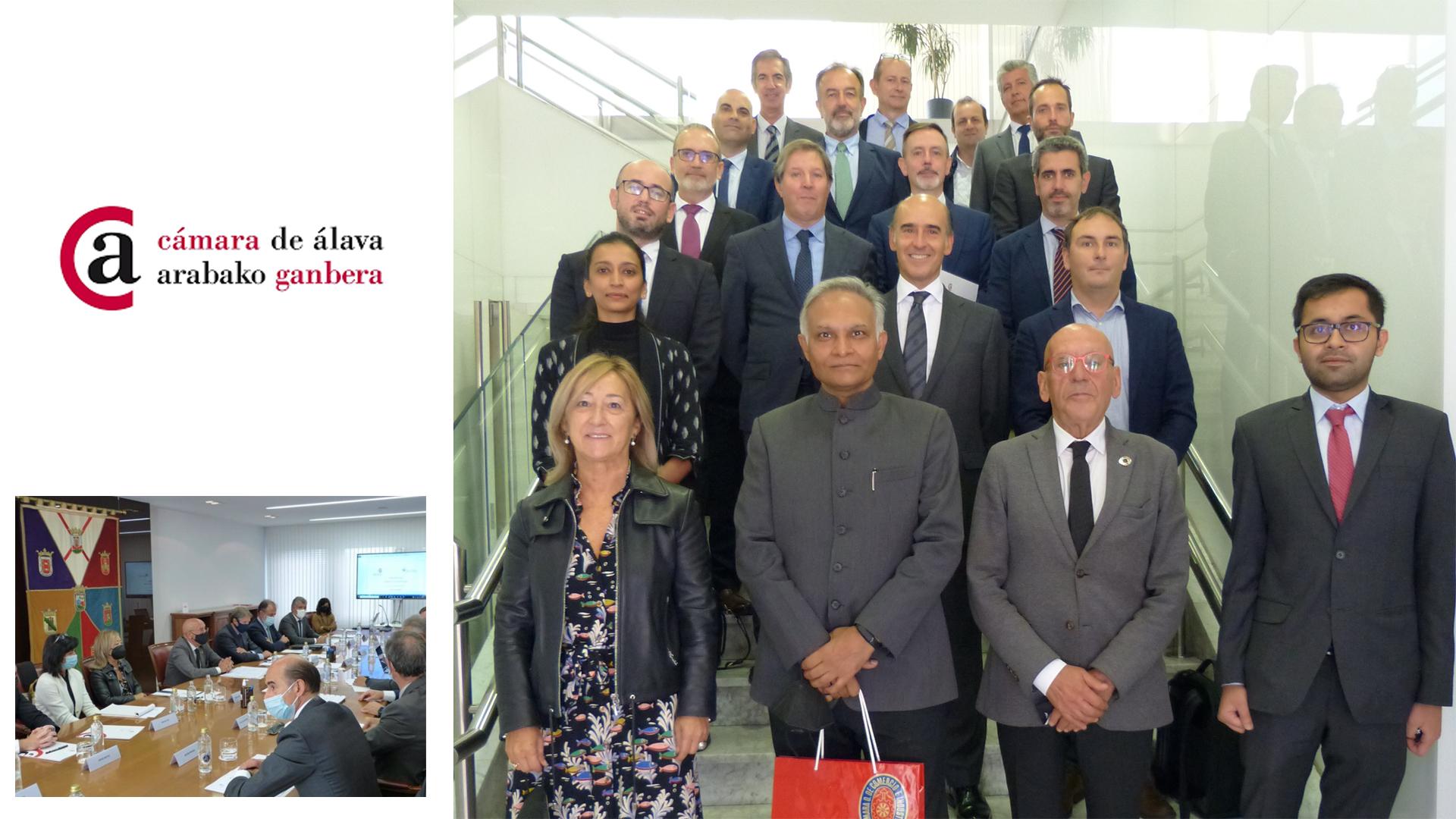 KREAN participa en un encuentro de empresas con el Embajador de India