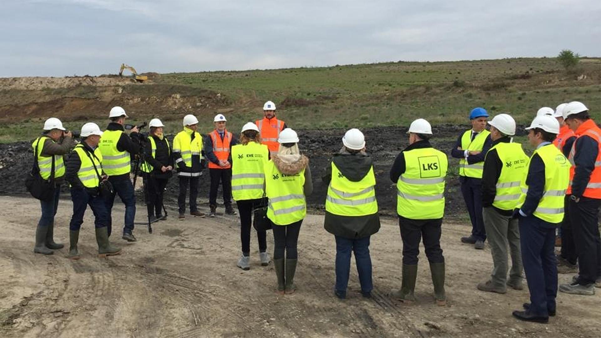 Comienzan la construcción de EKIAN, el mayor parque solar fotovoltaico de Euskadi