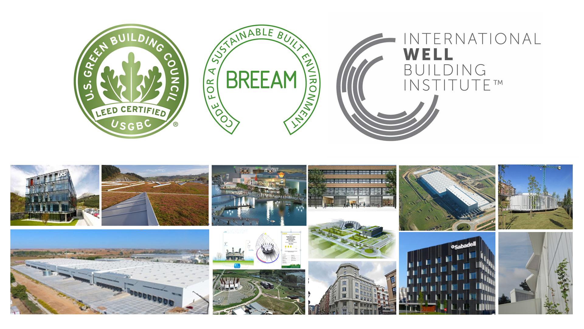 LKS Krean alcanza los 100 edificios certificados LEED, BREEAM o WELL.
