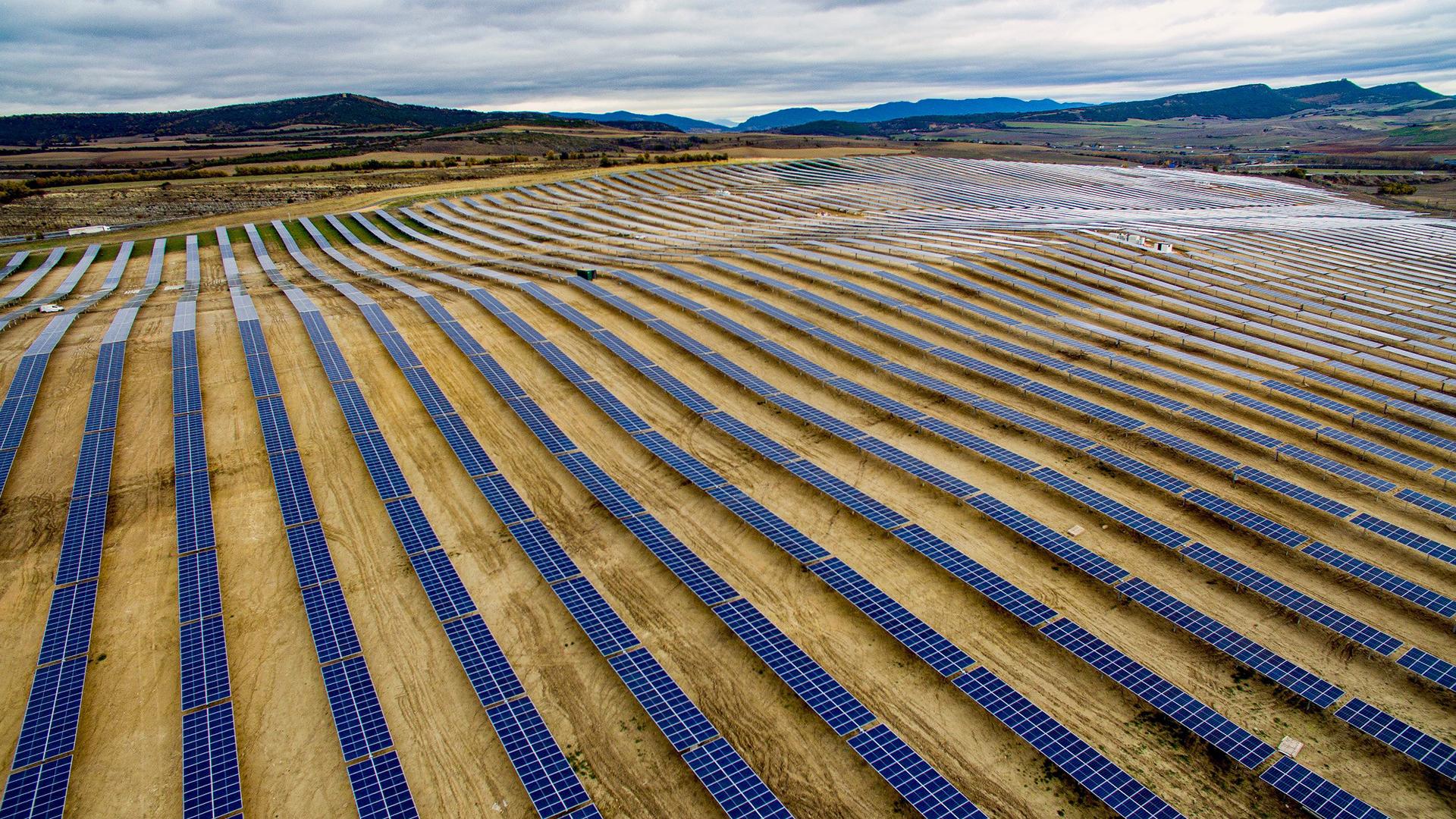 EKIAN, la mayor planta solar de Euskadi, echa a andar