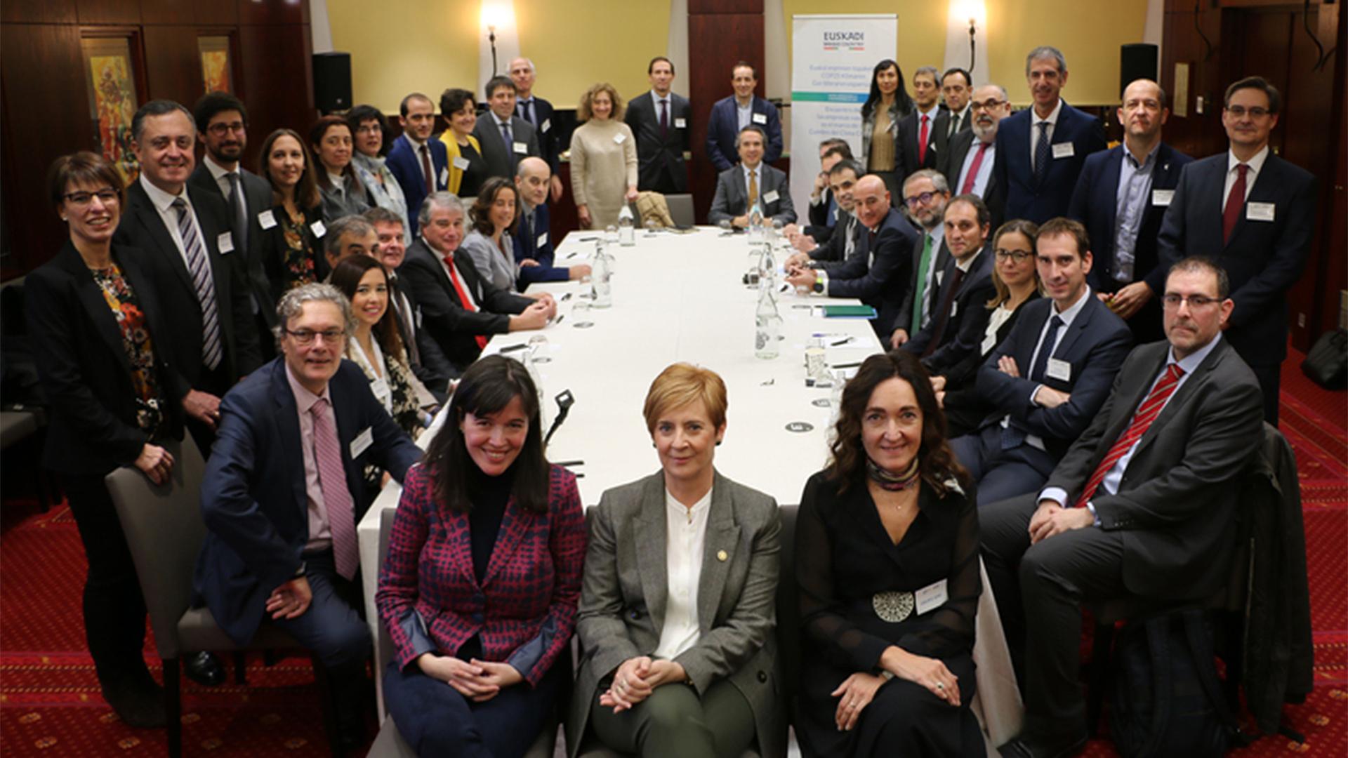 KREAN ha participado en el Encuentro de las Empresas Vascas en el marco de la Cumbre del Clima COP25