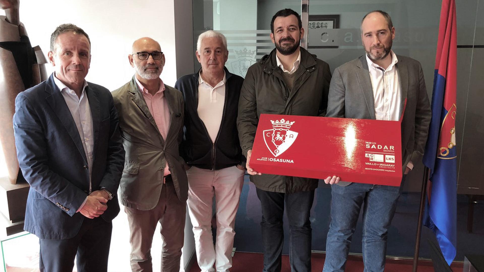 Reforma del estadio El Sadar de Pamplona: LKS KREAN acompaña en el concurso a la constructora ACR grupo y colabora en la redacción de la propuesta con el estudio de arquitectura Vaillo+Irigaray Architects