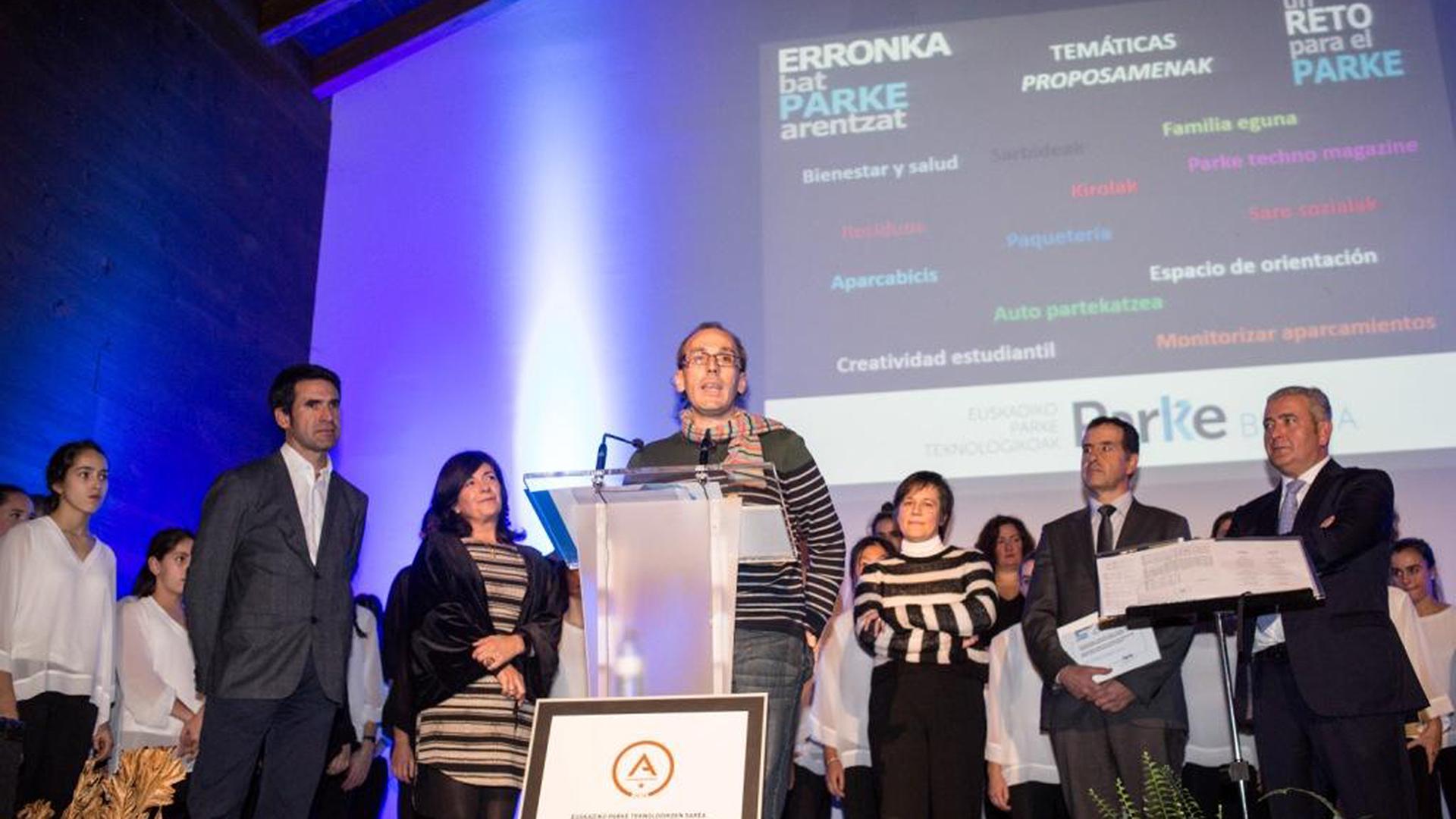 """La propuesta de Iñigo Bengoa, de LKS Tasaciones, gana el Concurso de iniciativa de innovación abierta """"Un Reto para el Parke"""""""