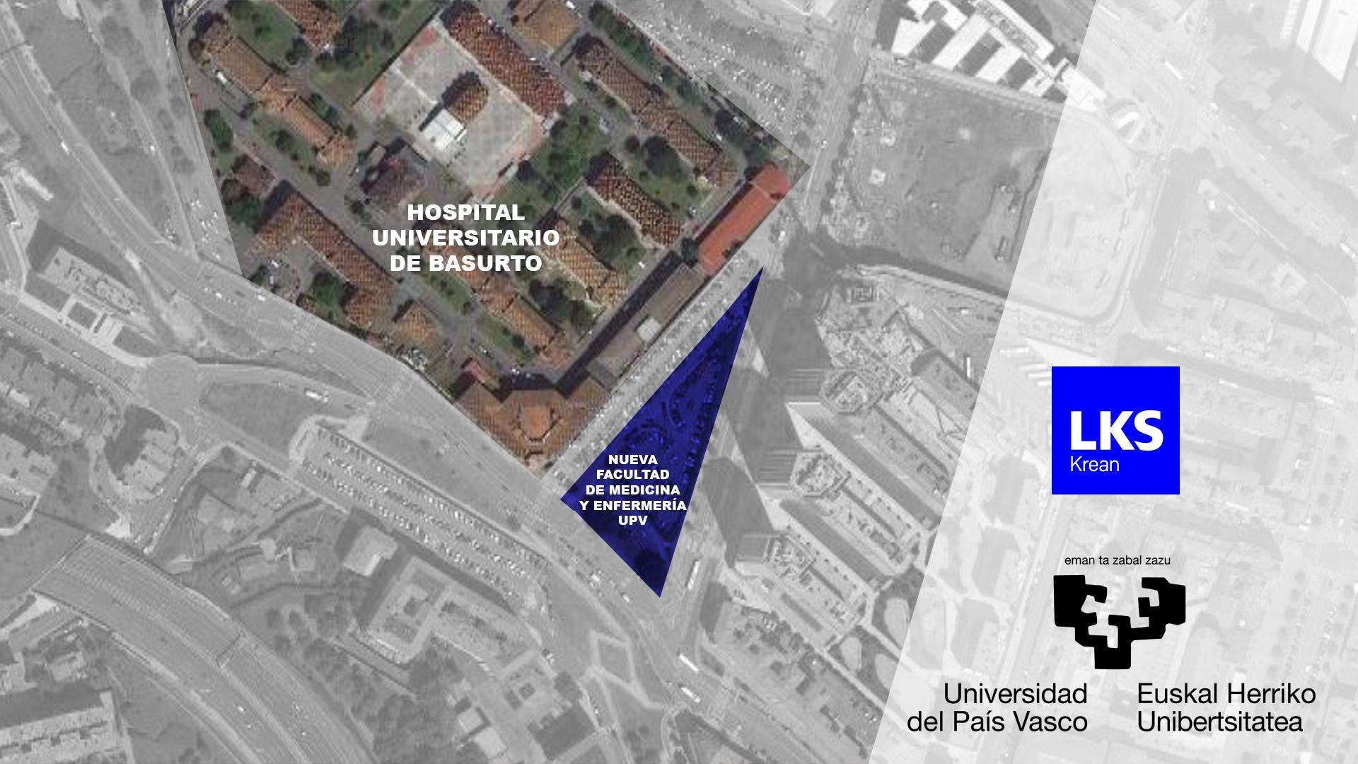 La Universidad del País Vasco ha confiado en LKS KREAN para el desarrollo de la nueva Facultad de Medicina y Enfermería de Basurto